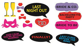 photo booth party props wedding party props photo booth at rs 199 set indirapuram
