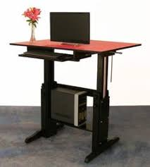 custom standing desk desks building and workspaces