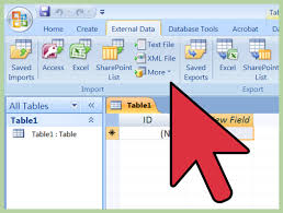 How To Do A Simple Spreadsheet How To Import Excel Into Access 8 Steps With Pictures Wikihow