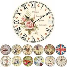 compare prices on rustic wall clocks large decorative online