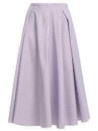 cotton skirt women s designer midi skirts shop luxury designers online at