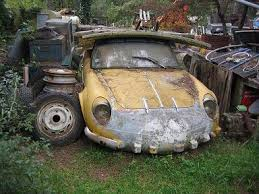 Vintage Cars Found In Barn In Portugal Renault Alpine A110 Barnfinds Pinterest Barn Finds