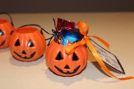 halloween pumpkin bag holiday event party favours celebration treatz