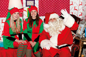 where to see santa in york 2016