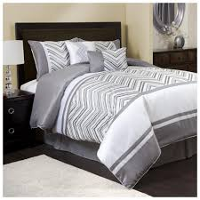 light grey bed skirt modern grey and white chevron print comforter bedroom sets with
