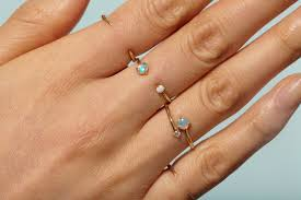 opal rings images Open opal ring wwake jpg