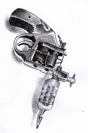 tattoo gun sketch tattoo gun by lazbathory on deviantart