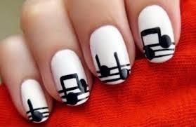 white and black nail polish design gallery nail art designs