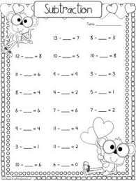 addition and subtraction worksheets with missing addends 1st