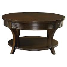 round espresso coffee table coffee tables thippo