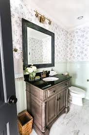 powder room decorating ideas for your bathroom camer design aqua meets urban powder room reveal bless er house