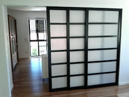 glass door room dividers idea sliding captivating panel divider