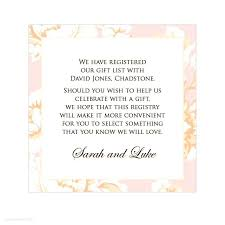 wedding gift list wording wording for registry on wedding invitation how to word gift