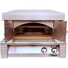 Outdoor Pizza Oven Alfresco 30 Inch Natural Gas Outdoor Built In Pizza Oven Alf Pza