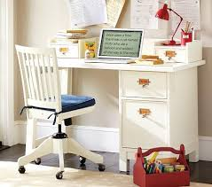 Pottery Barn Small Desk Basic Desk Small Hutch Pottery Barn