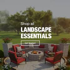 Landscaping For Backyard Garden Center At The Home Depot