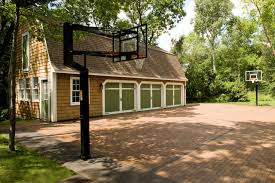 Home Basketball Court Design Photo Of Nifty Outdoor Basketball - Home basketball court design