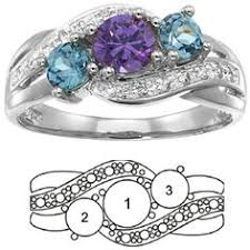 mothers infinity ring a band of your husbands birth with wedding set i i