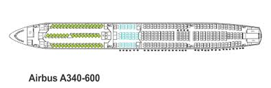 a340 seat map mahan air seat map