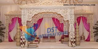 wedding mandaps jodha akbar wedding mandap theme wedding stages