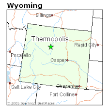 map of thermopolis wyoming best places to live in thermopolis wyoming