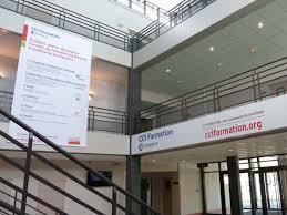 chambre de commerce et d industrie metz expocom signalétique intérieure et extérieure pour la cci formation