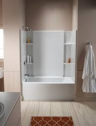 One Piece Bathtub Shower Units Soaking Tub Shower Combo 10 Tips For Designing A Small Bathroom
