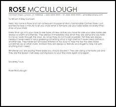 customer service appreciation letter livecareer