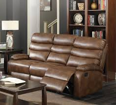 Reclining Sofas And Loveseats Leather Reclining Sofa Loveseat Free Recliner Unclaimed Freight