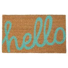 Doormats Target Hello Printed Coir Door Mat Target Australia