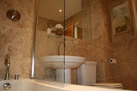 fresh travertine tile small bathroom 8901