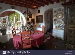 the robert brady museum in cuernavaca mexico stock photo