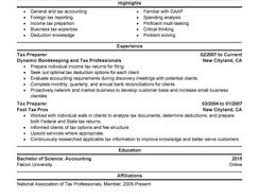 Sample Resume For Tax Preparer Paper Machine Operator Resume Tele Marketing Executive Resume