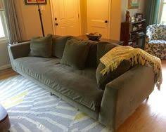 crate and barrel down filled sofa room and board hess sofa 102 in doss grey custom room board 102