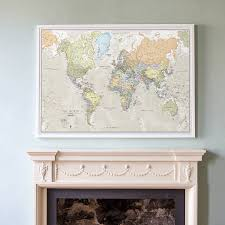 Wall Maps Of The World by Wall Art Maps Of The World Shenra Com