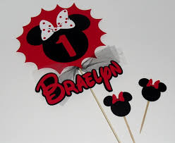 Red Minnie Mouse Cake Decorations 97 Best Minnie Mouse Images On Pinterest Biscuits Cakes And Crafts