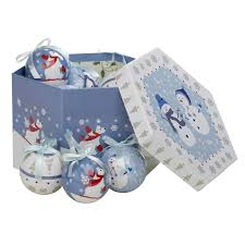 Homebase Blue Christmas Decorations by White And Gold Decoupage Baubles 14 Piece At Homebase Co Uk