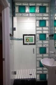 glass block bathroom ideas glass block bathroom designs home
