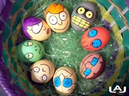 Quirky Easter Decorations by Funny Easter Eggs Time For The Holidays