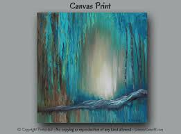 43 20 large wall art turquoise brown u0026 teal abstract canvas