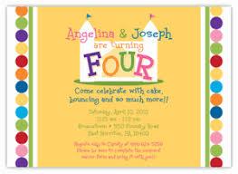 house boy twins birthday invitation