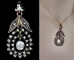 vintage diamond pendant necklace images Beauty will save viola beauty in everything jpg