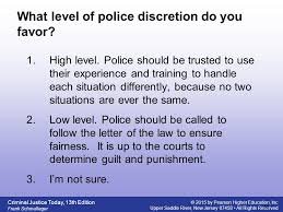 policing purpose and organization chapter 6 frank schmalleger