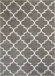 Modern Gray Rug S Lattice Grey Modern Rug Well Woven