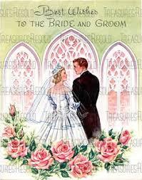 Wedding Wishes Download Retro Bride U0026 Groom Wedding Card 533 Digital Download Cards