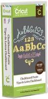 chalkboard fonts cricut cartridge