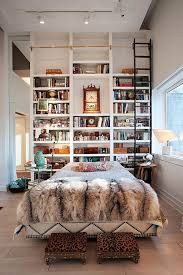 How To Build A Wall Mounted Bookcase 17 Bookshelves That Double As Headboards