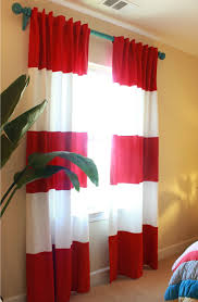 Rugby Stripe Curtains The Rugby Striped Curtains Boy Rooms Pinterest Striped