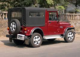 thar jeep white file mahindra thar in maroon rear right jpg wikimedia commons