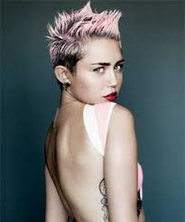 miley cyrus hairstyle name miley cyrus from pixie to mohawk